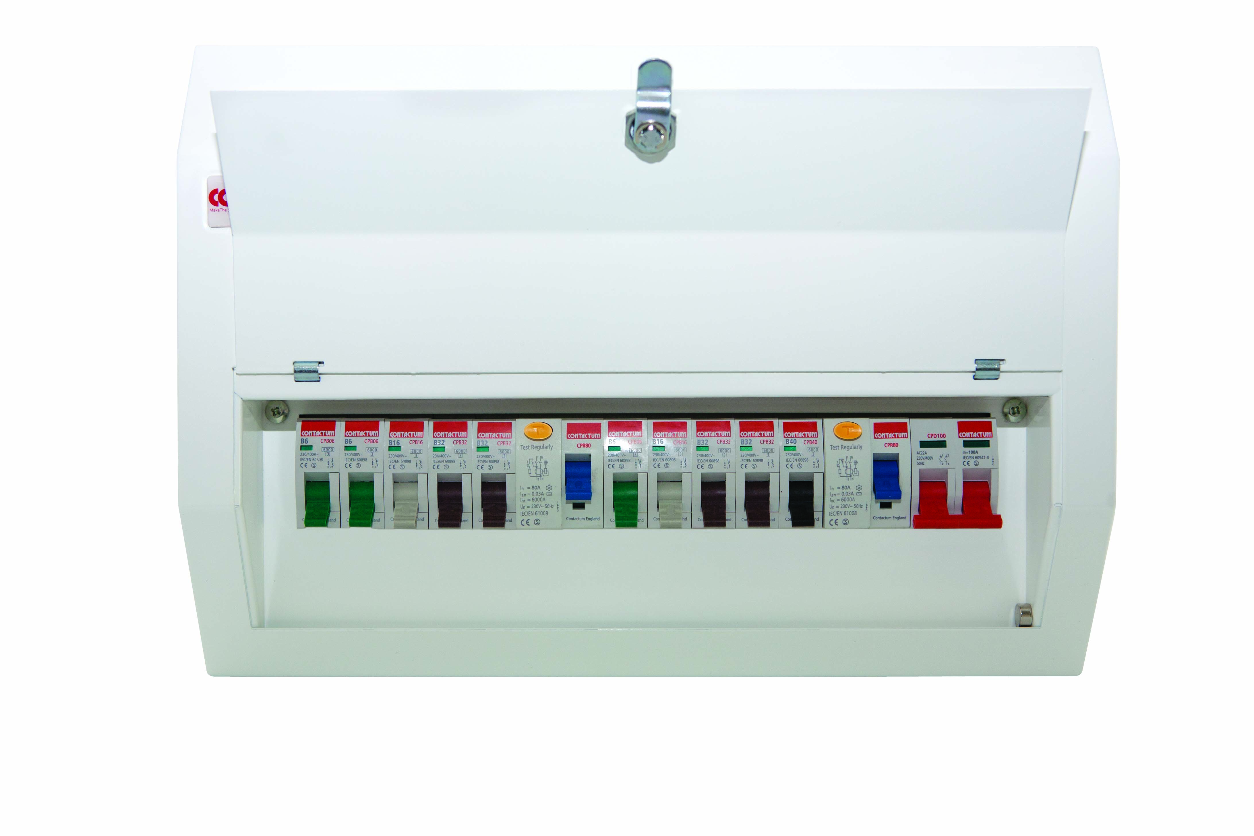 Consumer Units Defender Contactum Wiring A Unit And Installation Distribution Board
