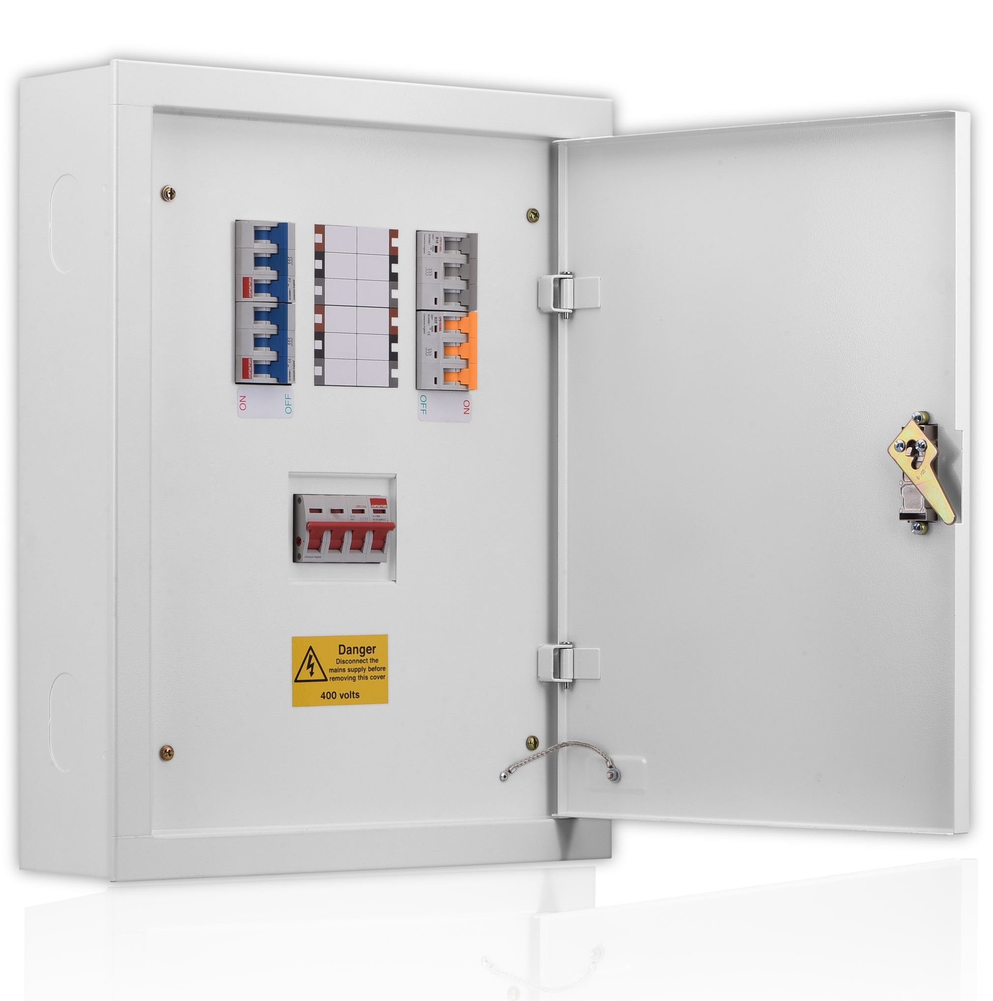 Three Phase Contactum Spm Circuit Breaker 3p 25amp 6ka Rating 3 Pole 25 Amp Contactums Range Of Enclosed Lv Distribution Equipment Has Been Designed And Manufactured In The Uk Conforming To Latest British European
