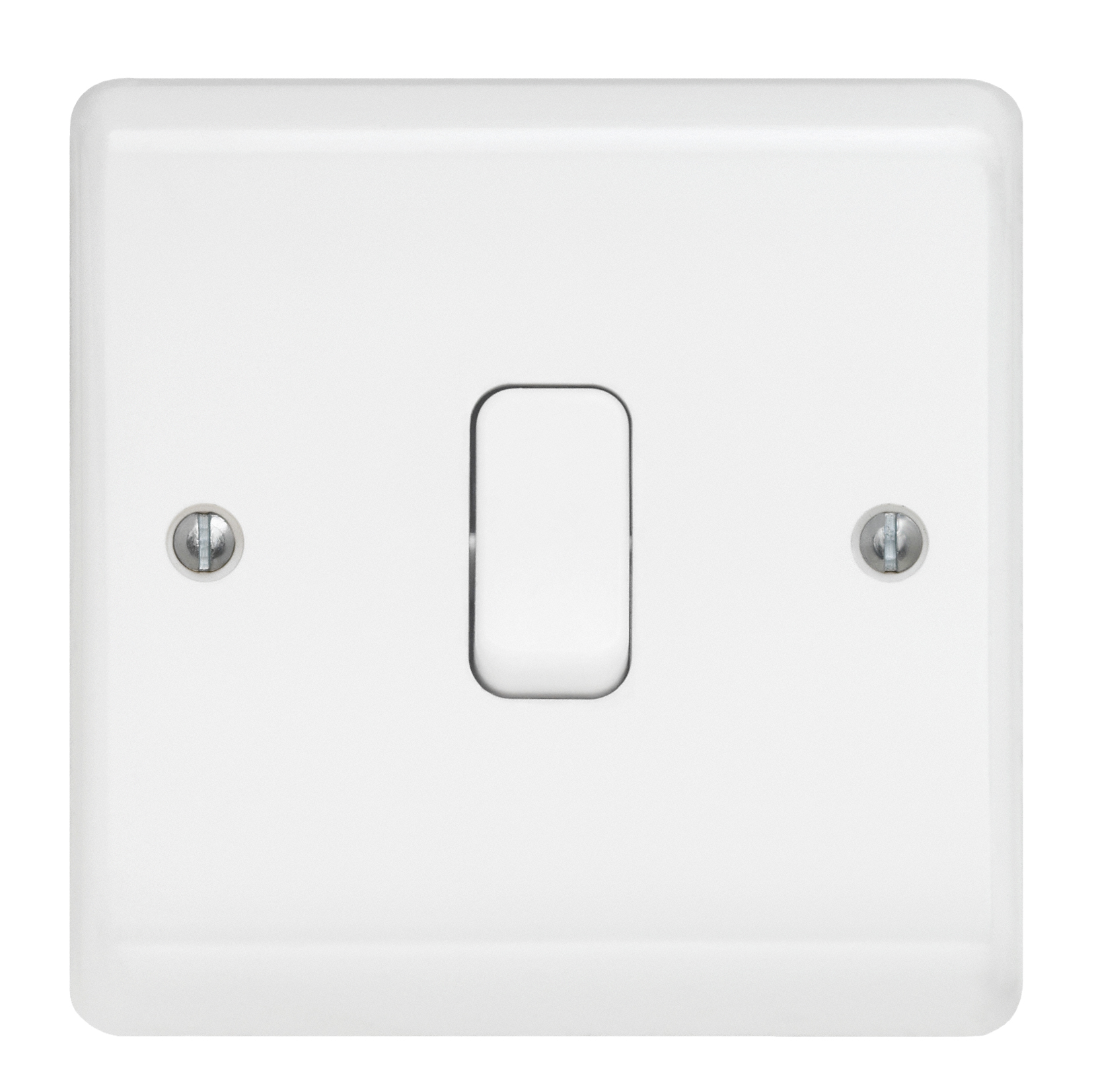 2 X 13a SWITCHED FUSED SPUR WHITE NEON GET CLASSIC RANGE CLSSN