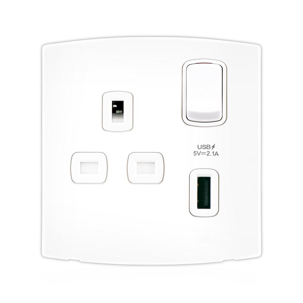 13a usb socket outlets