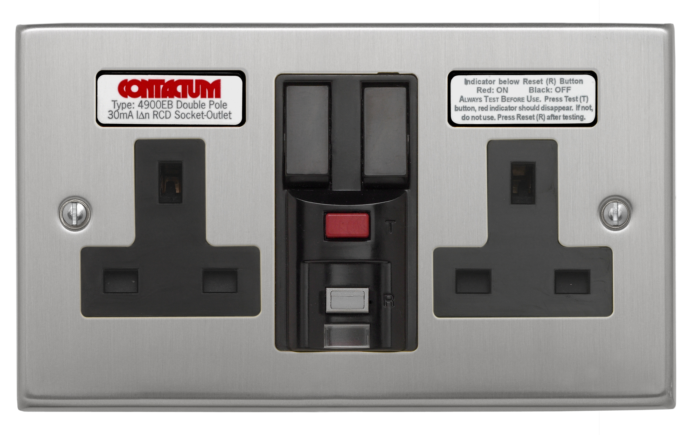 13a Rcd Socket Outlets Contactum