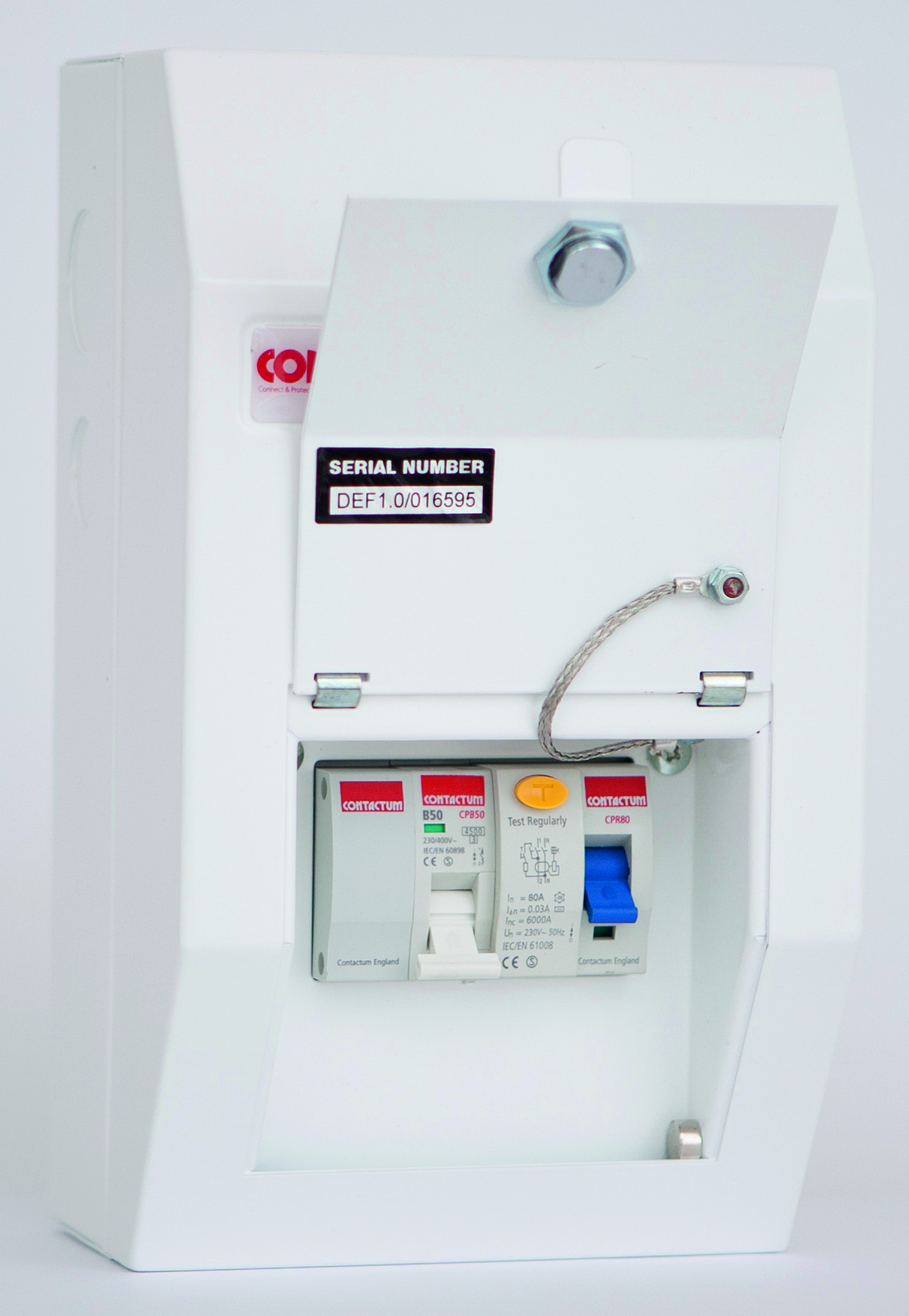 Consumer Units Defender Contactum Wiring A Shower Switch Dspe1ms