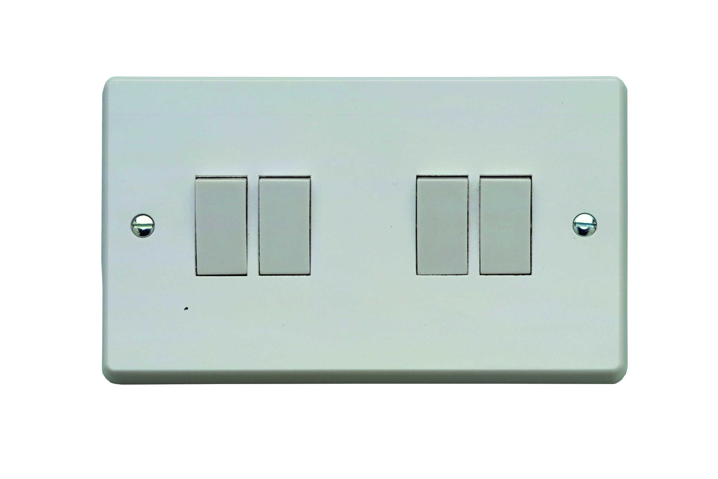 Traditional Moulded Contactum Wiring Cooker Switch Socket X2742